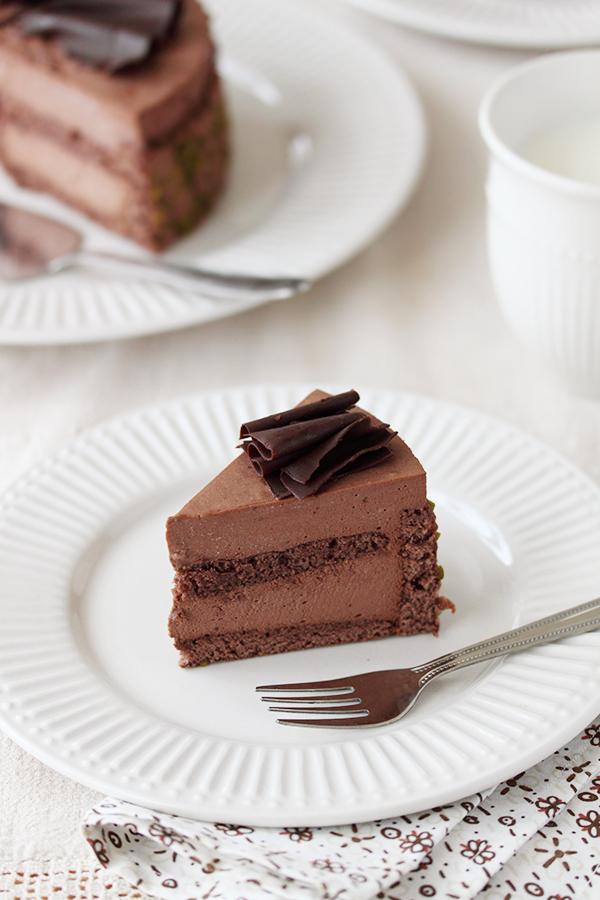 Charlotte au Chocolat slice by kupenska