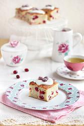 Cranberry cake by kupenska