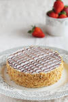Strawberry Mille-Feuille with handmade puff pastry