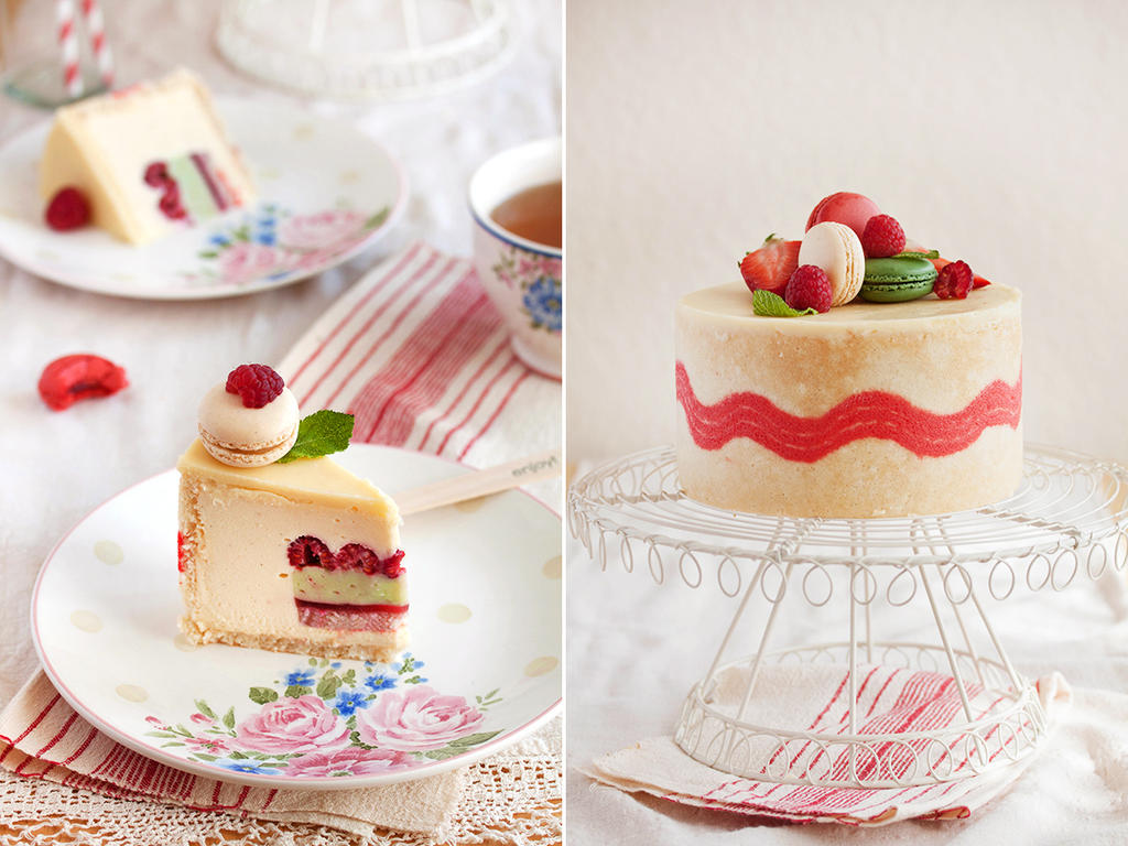 Spring inspired entremet by kupenska