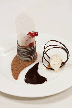 Chocolate mousse by kupenska