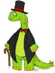 Sharp-Dressed Dino