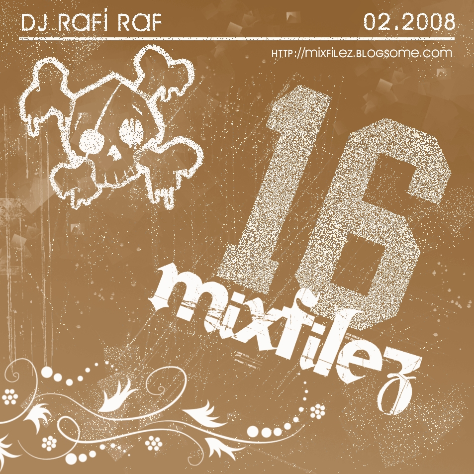 Mixfilez Vol.16 Front Cover by rafmaister