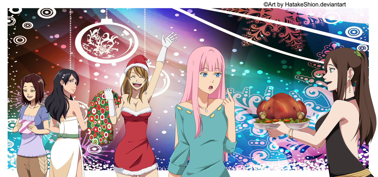 Merry Christmas_CROSSOVER_OC by HatakeShion