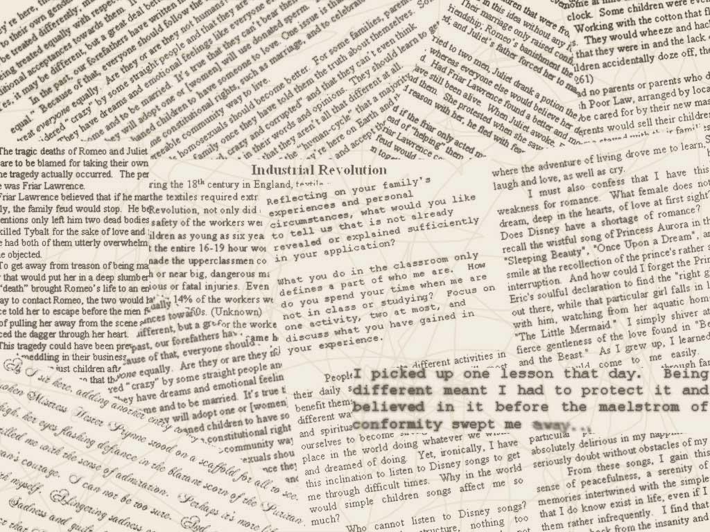 Newspaper wallpaper by minuitserenite on deviantart for Newspaper wallpaper