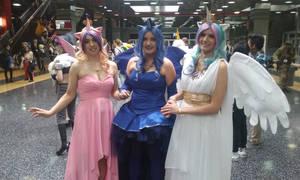 Princesses Cadence, Luna, and Celestia