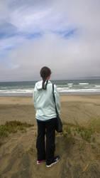 Ocean Beach SF w Reb July 2018 by dofaust