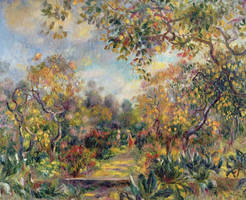 Landscape-at-beaulieu-pierre-auguste-renoir by dofaust