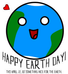 Happy Earth Day 2010 by RanebowStitches