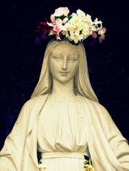 Mother Mary by RanebowStitches