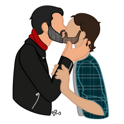 Smooch by RanebowStitches