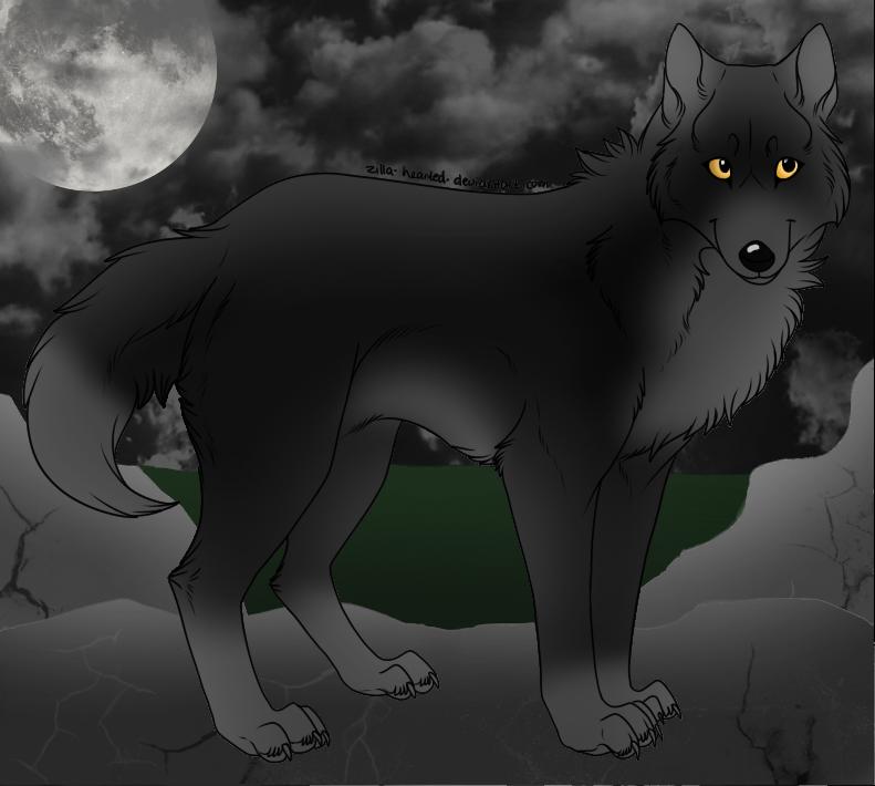 Midnight Wolf by Harryn53012