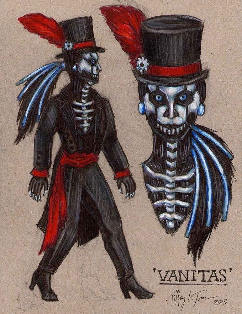 Vanitas - SPG Fanbot Design by MadameGiry