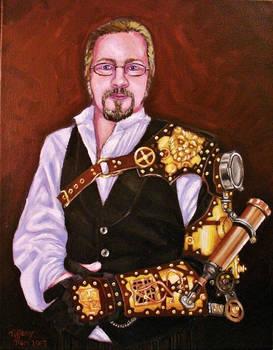 Steampunk Portrait #1: Thomas Willeford
