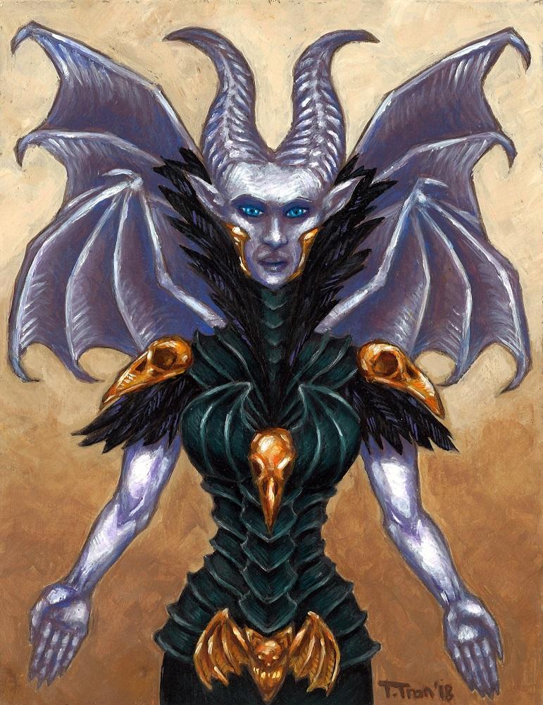 The Wicked Fairy by MadameGiry