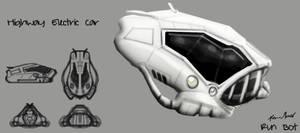 Runbot Concept Art Car