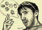 A Sketchy Perspective of Christian Kalczewski