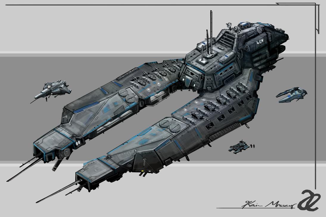 Allied Enemies LOV Faction Battleship by KevinMassey