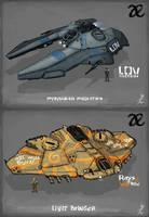 Allied Enemies Civil War Fighters by KevinMassey