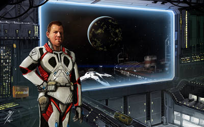 Elite Dangerous: CMDR Rogue949 by KevinMassey
