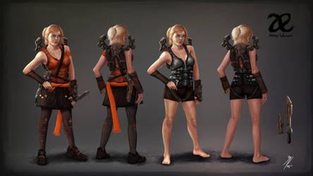 Allied Enemies - JaneyWarren Concept Art by KevinMassey