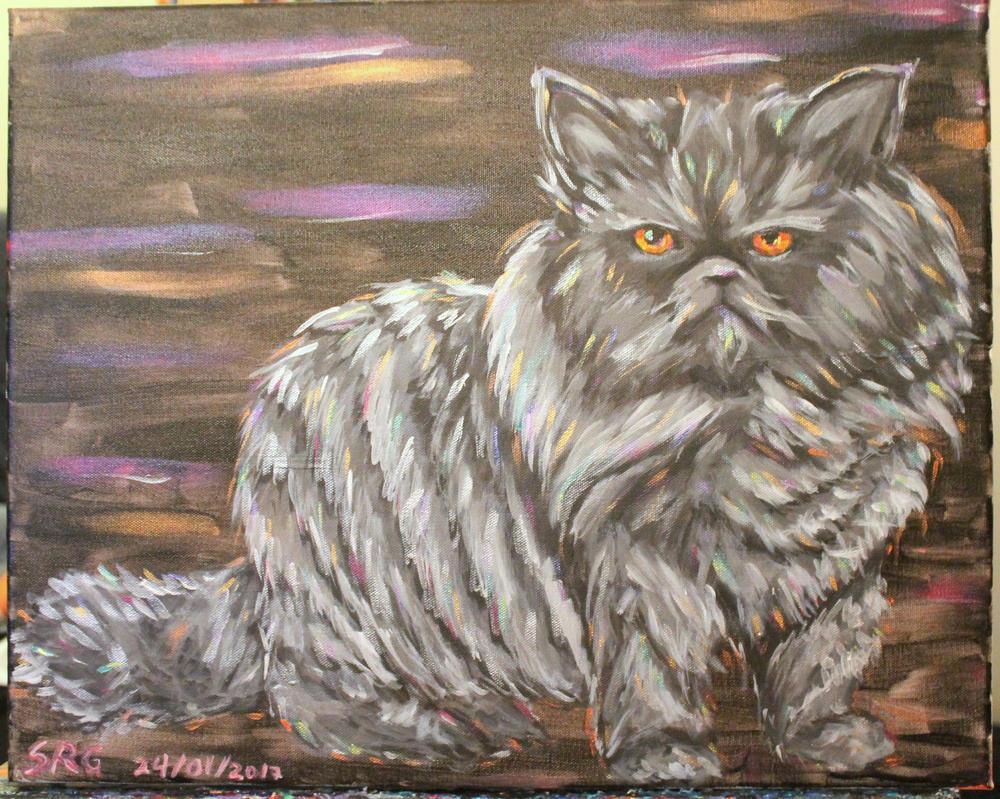 Ugly Kitty by SammyGArt