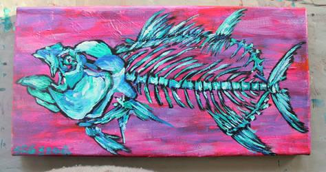 Tuna by SammyGArt