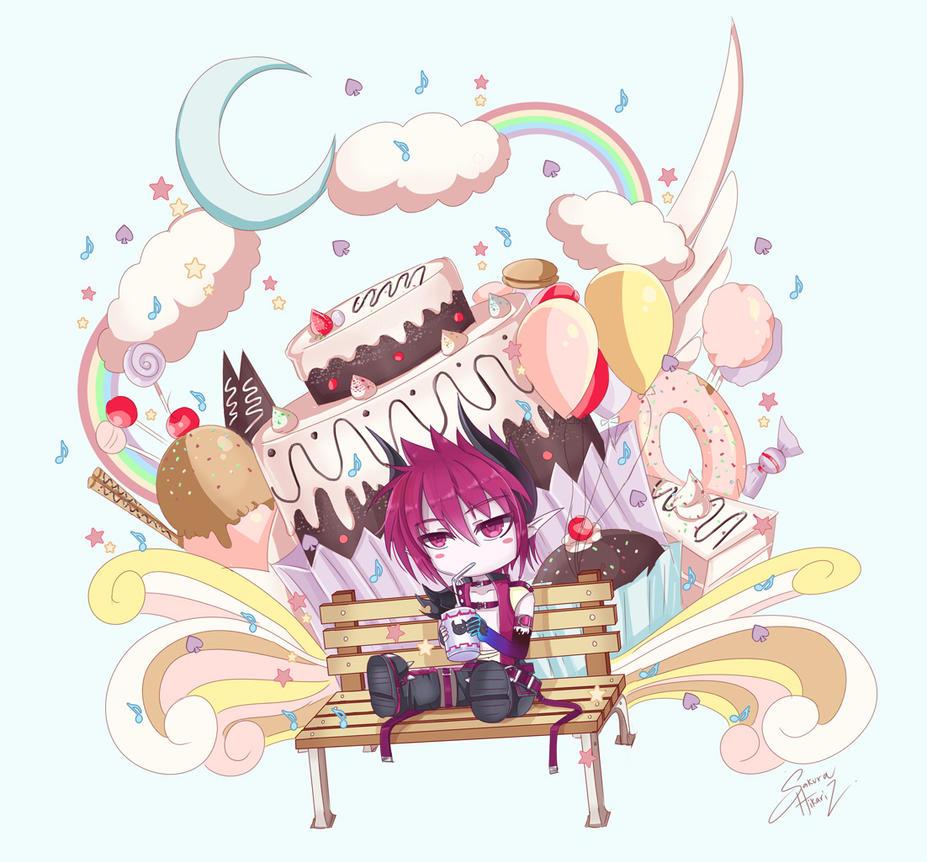 Candy world by SakuraHikariz on DeviantArt