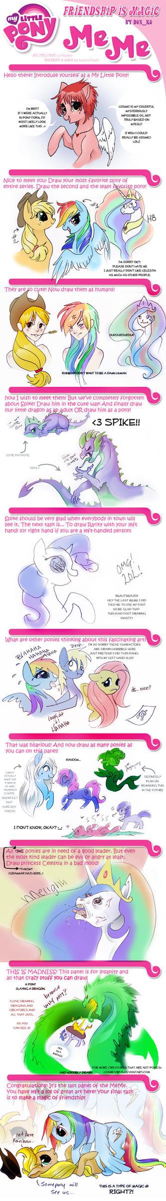 My Little Pony MEME Finished!! by OpalAcorn