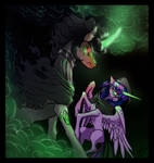 Lich VS Wraith - King Sombra and Twilight Sparkle