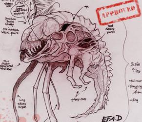 Bevirus Zared Baby by OpalAcorn