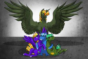 Commission: Group Hug