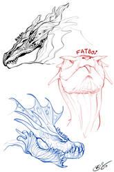 Dragon bois by OpalAcorn