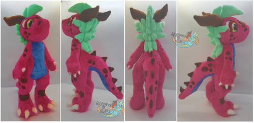 Nezz the dragon by Abundance-Of-Fluff