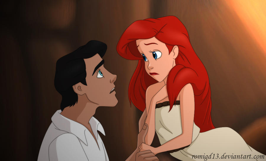 Ariel and Eric II by romigd13 on DeviantArt