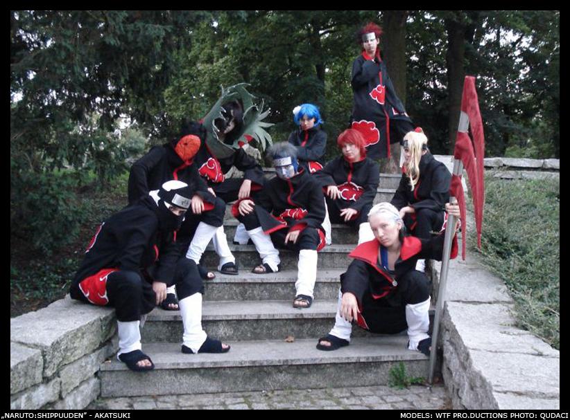 CosPlay: Akatsuki Team by linasakura