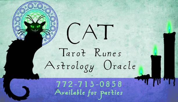 CAT noir CARD
