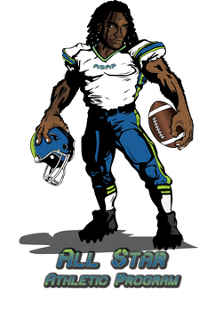 All Star Athletic Program Logo