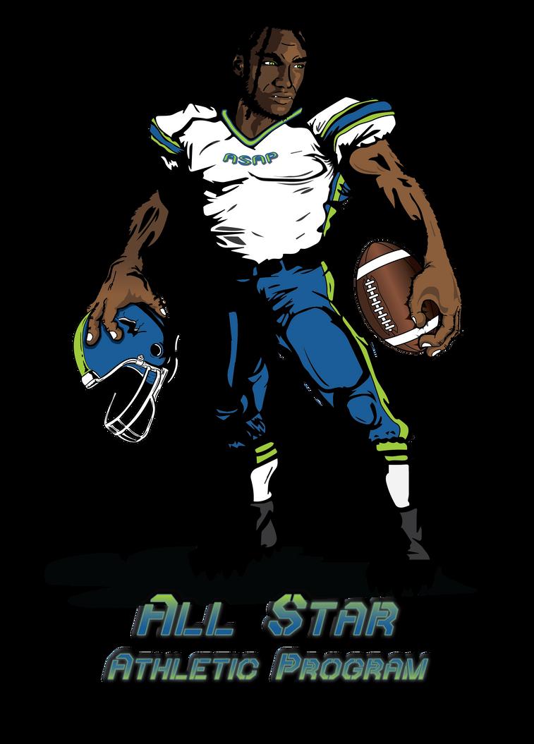 All Star Athletic Program Logo by WallHaxx