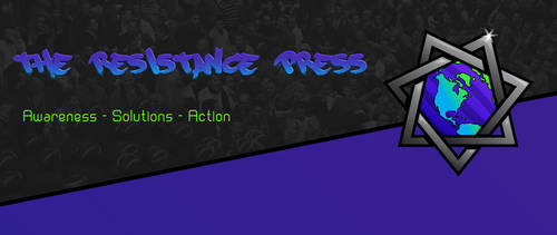 The Resistance Press Logo and banner