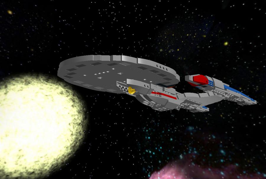 Lego Uss Enterprise Ncc 1701 E By Dalekofborg On Deviantart