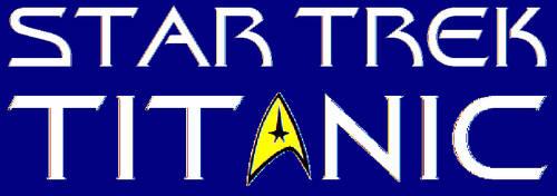 Star Trek Titanic Title Logo