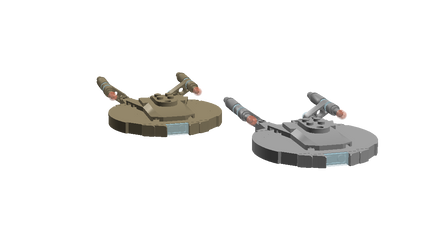 Enterprise and Columbia by DalekOfBorg