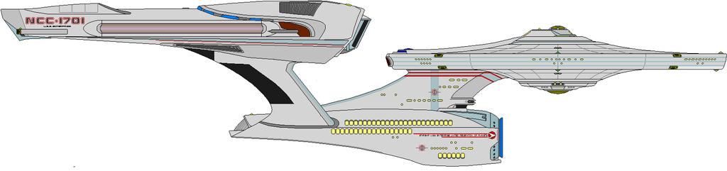 Enterprise Passenger Liner by DalekOfBorg
