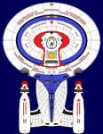 Galaxy-Class Medical Frigate USS Holdeman