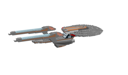 USS Martin Landau NCC-62028 Lego Model by DalekOfBorg