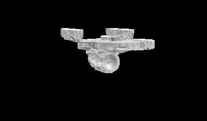 USS Enterprise Ghost by DalekOfBorg