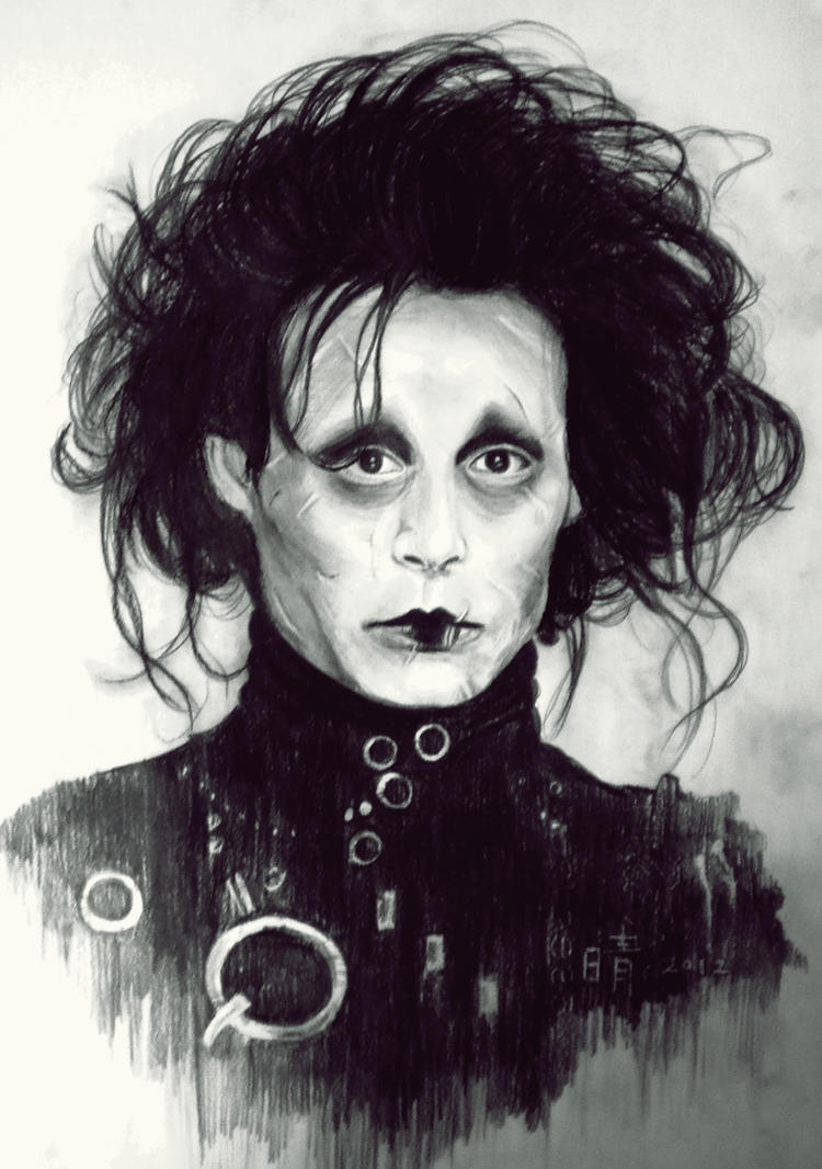 Edward scissor... Edward Scissorhands ... - edward_scissorhands_by_lacerare-d5jx7f7