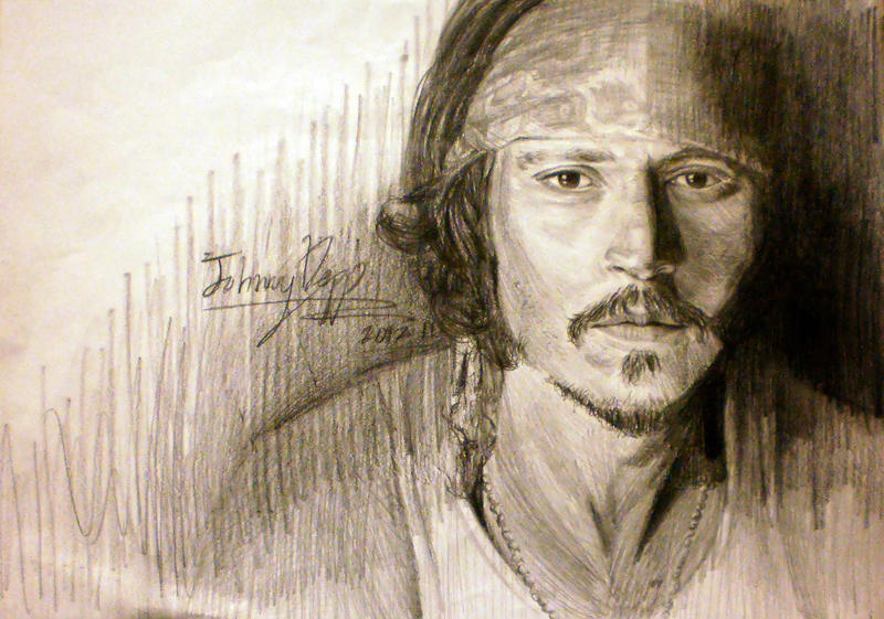 Johnny Depp by Lacerare