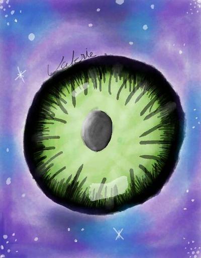 looking Glass eye by piomie